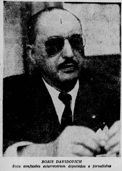 Boris - Tribuna da Imprensa - 1956