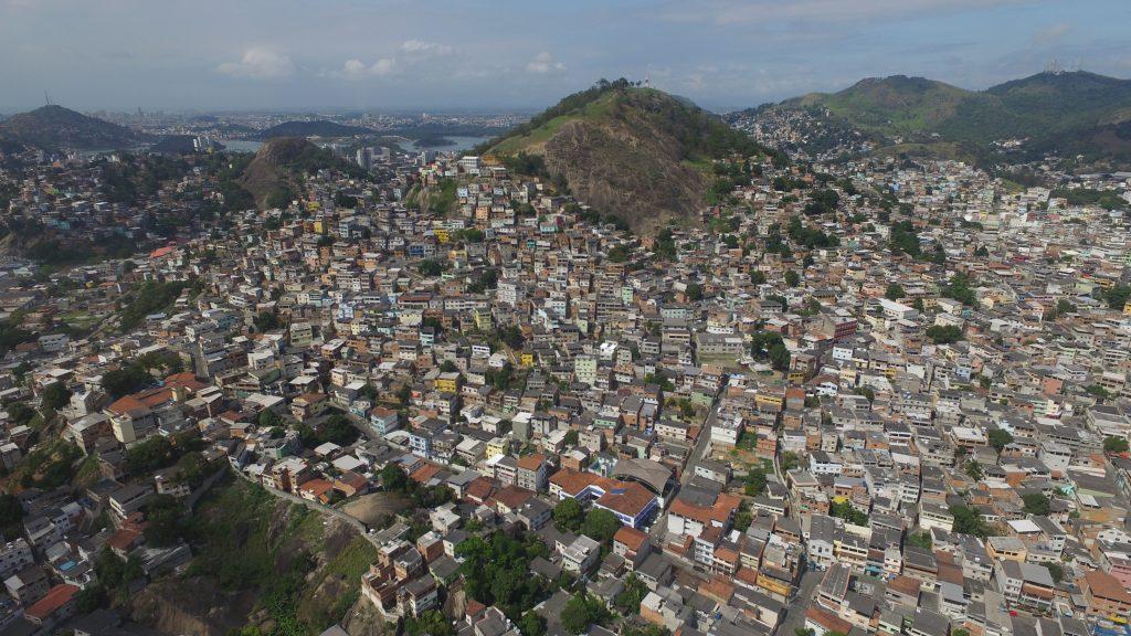 Região do Bairro da Penha, em Vitória. Área registra diversos conflitos entre grupos de traficantes