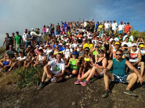 Mais de 200 pessoas participam da 5ª Subida de Verão ao Monte Aghá